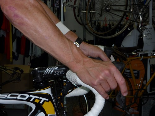 Bikes Handlebar Brake Facts allows unbent wrists brake