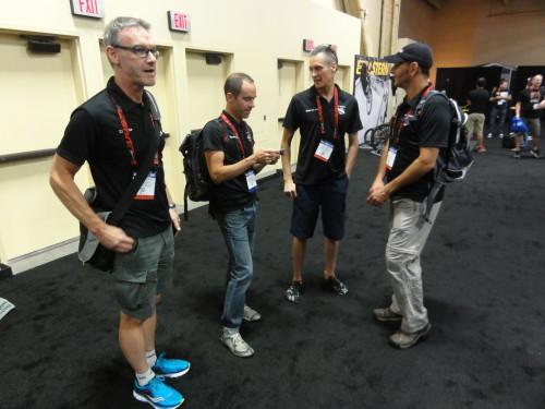 Steve Hogg Bike Fitting Team Members: Mark Dwyre, Colby Pearce, Jerry Gerlich, and Scherrit Knoesen