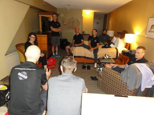 Steve Hogg reviews his bike fitting philosophy with his team and other like-minded bike fitters.